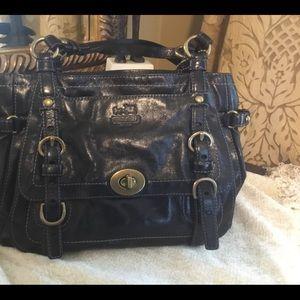 Large Coach Legacy satchel.